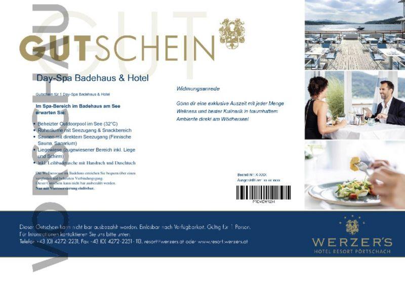 4a2b6047419f22 Gutscheine online bestellen |Werzers Hotel Pörtschach